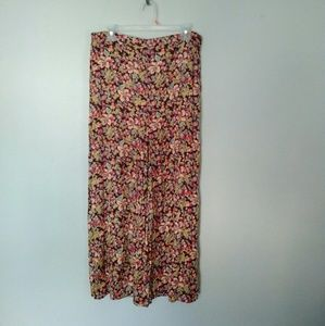 April Cornell floral maxi skirt